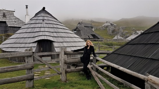 matea in Traditional village montagne Velika Planina Slovenia