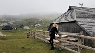 matea in slovenia montagne