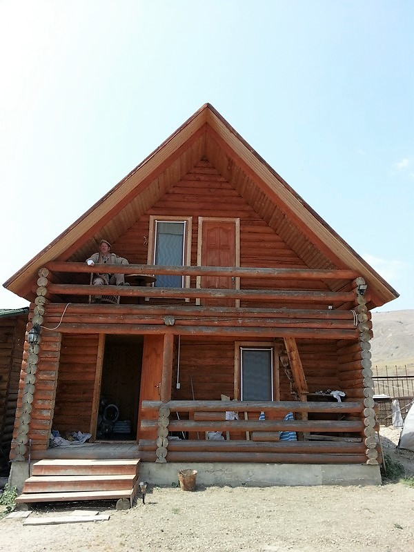 wood house en crimée