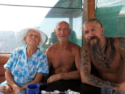 family ukrainienne in crimée