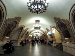 kievskaya-station metro in moscow