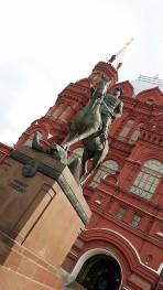 statue soldat place rouge