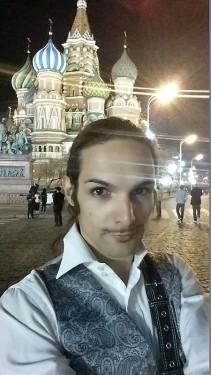 selfie moscouw