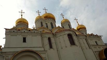 église contre-plongé moscou