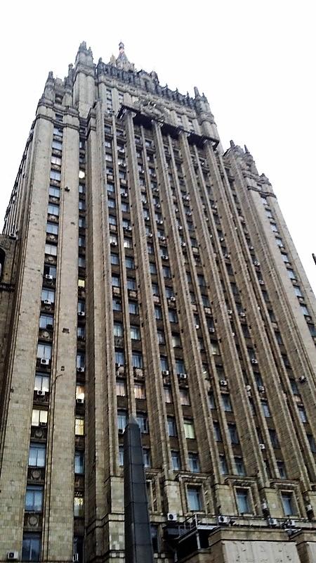 architecture soviétique moscou