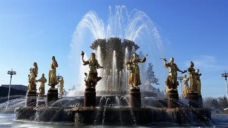 fontaine moscou