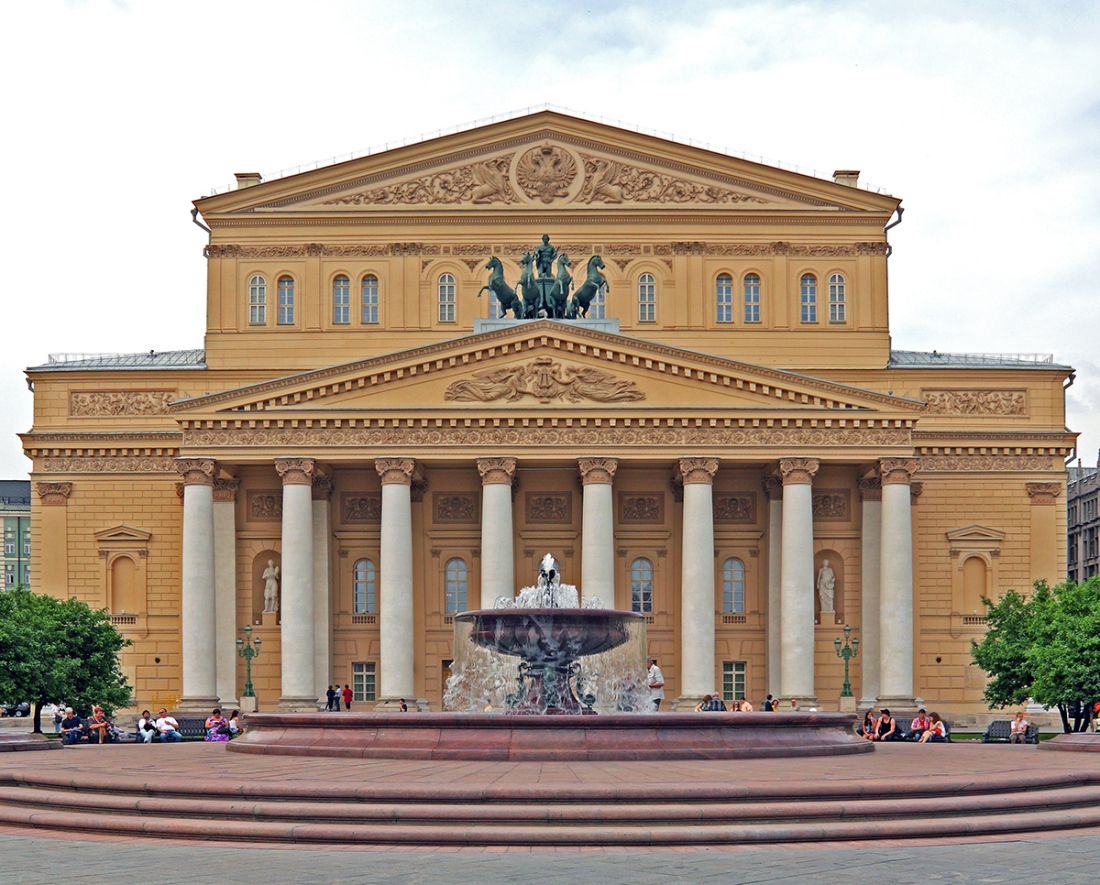 bolchoi theater in moscow
