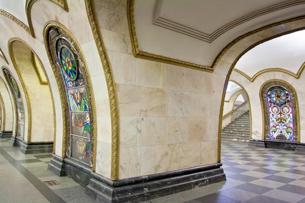 Novoslobodskaya station metro moscow