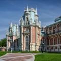 Palais de Tsaritsyno moscow