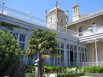 palace vorontsov in crimée