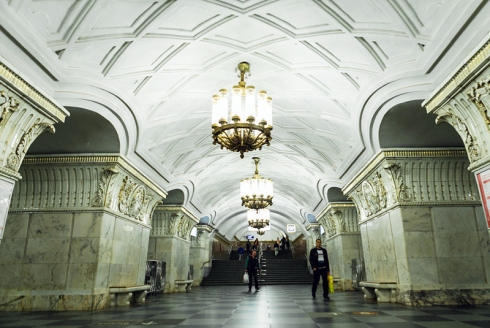 prospekt mira station in moscow