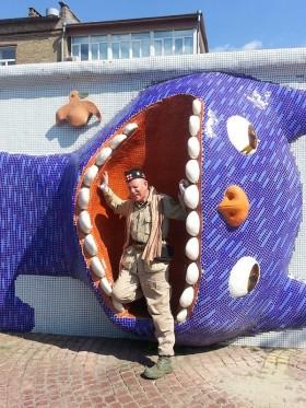 allan mac horn et les sculptures à kiev