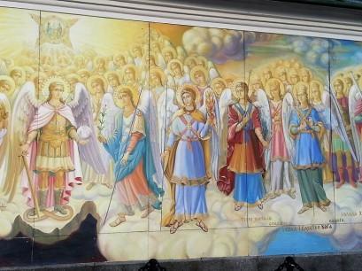 peinture orthodoxe de Kiev en Ukraine