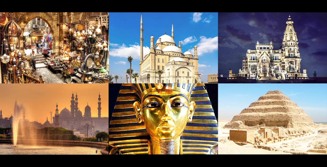 Egypt que voir CAIRO Dahshur Saqqarah Mohamed Ali Al Azhar Toutankhamon Baron Empain