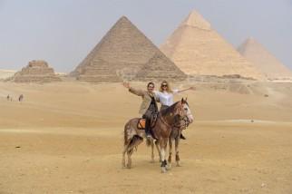matea pyramides de gizeh cairo egypt