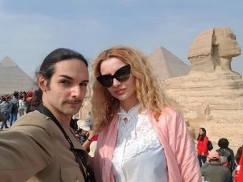 le caire pyramides et sphinx gizeh egypte (2)