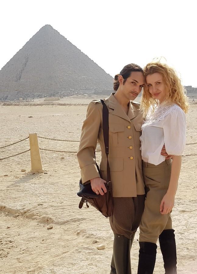 le caire pyramides et sphinx gizeh egypte (6)