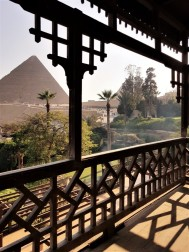 balcon suite view mena house hotel egypte
