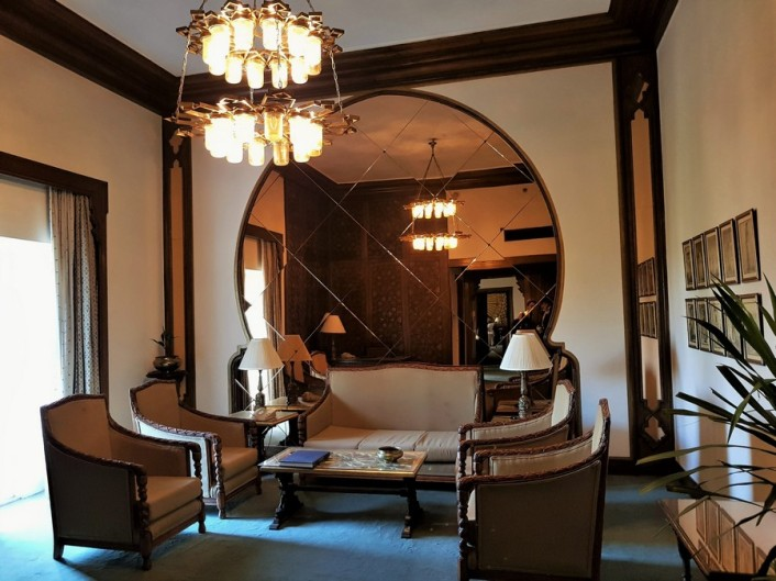 suite montgommery mena house hotel egypte
