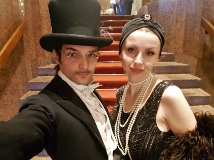 selfie 1900 mena house hotel egypte