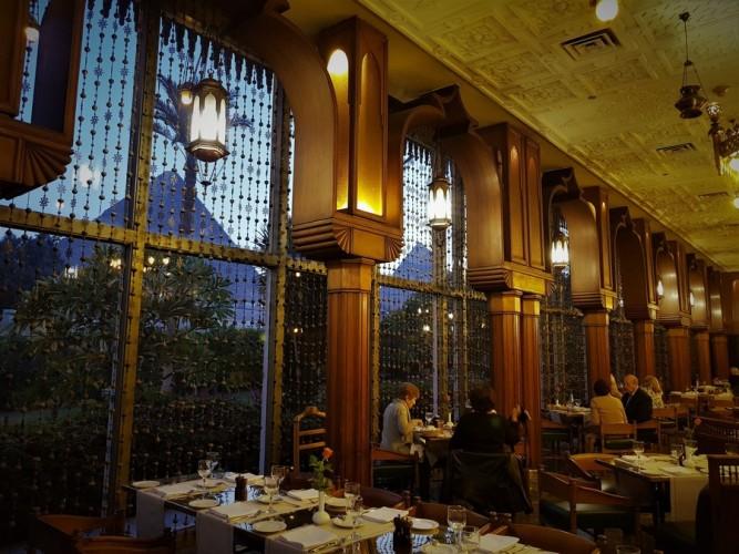 restaurant mena house hotel egypte