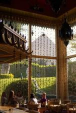 cafe bar vue pyramide mena house egypt