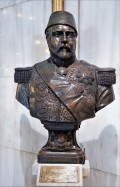 statue roi mena house hotel egypte