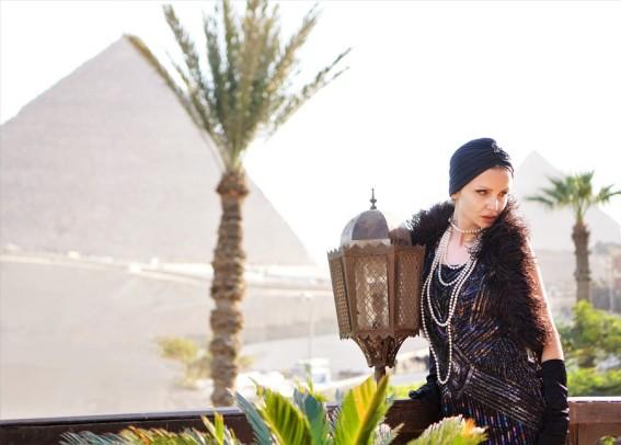 lady 1920 mena house hotel egypte