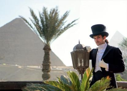 1920 gentleman mena house hotel egypte