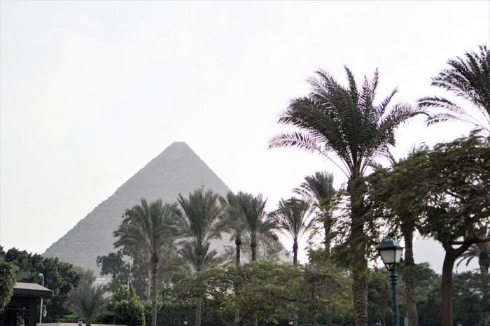 pyramid mena house hotel egypte