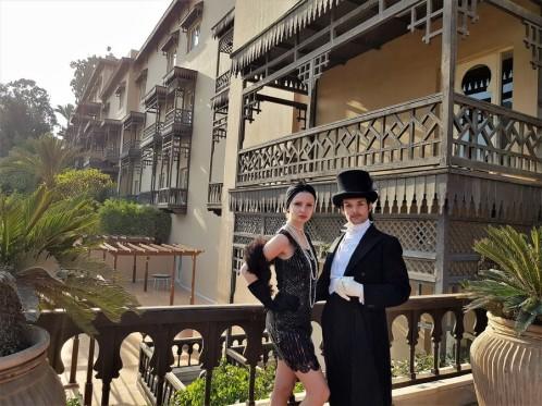 mena house hotel egypte costume historique 1900