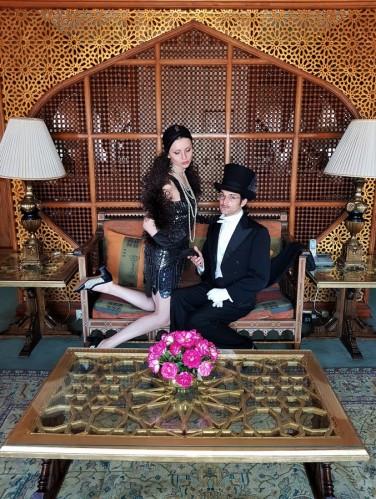 presidential suite 1920s mena house hotel egypte