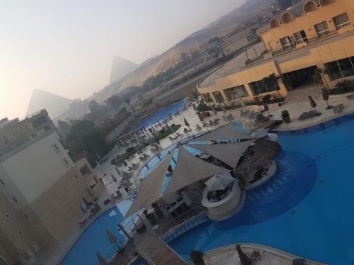 view pyramid meridien spa hotel