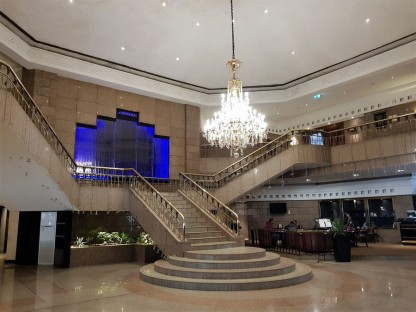 hall entrance meridien spa hotel egypt