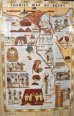 papyrus tourist map spa hotel