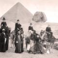 victorian british visit pyramids et sphinx