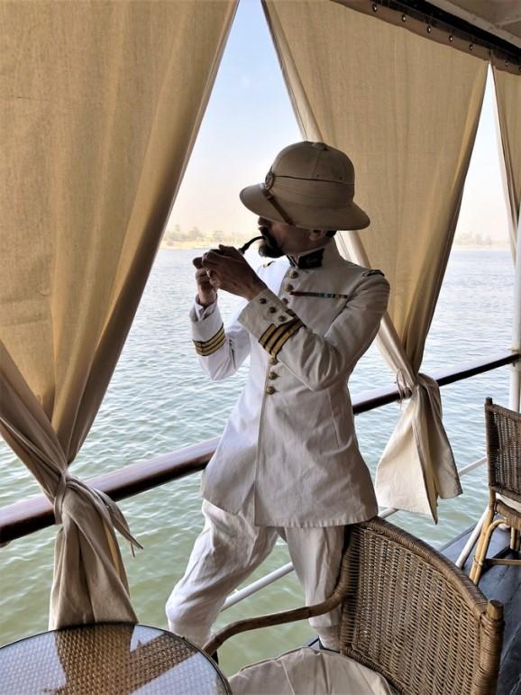 Agatha Christie Nil croisière en belle époque sur le Steam Ship Sudan - Reconstitution