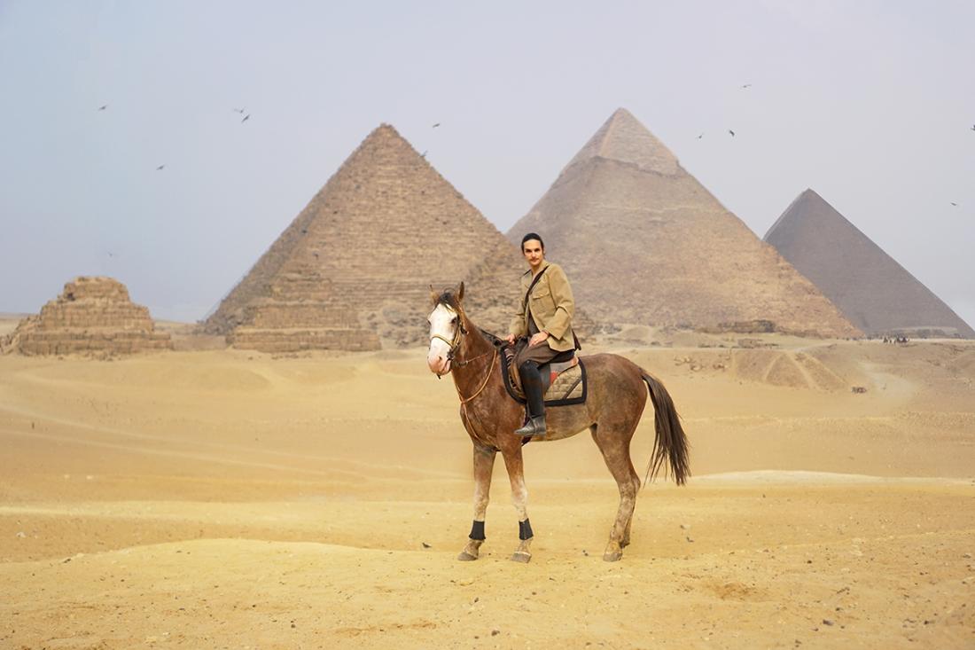 telombre giza pyramids travel egypt