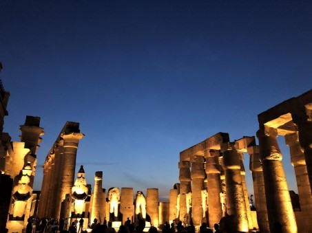 Temple Amon Karnak Louxor Croisiere Egypte