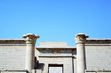 Temple million d'année Ramses III - Medinet habou egypte antique