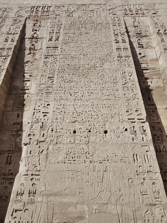 temple million d'annee ramses III - medinet habou egypte antique (13)