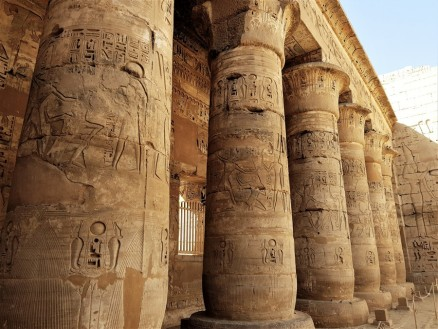 temple million d'annee ramses III - medinet habou egypte antique (14)