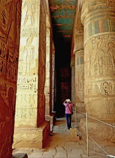 temple million d'annee ramses III - medinet habou egypte antique (20)