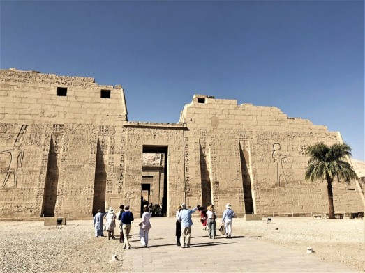 temple million d'annee ramses III - medinet habou egypte antique (21)