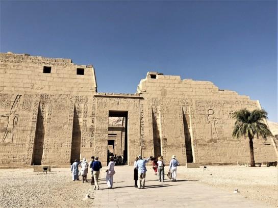 temple million d'annee ramses III - medinet habou egypte antique (21)