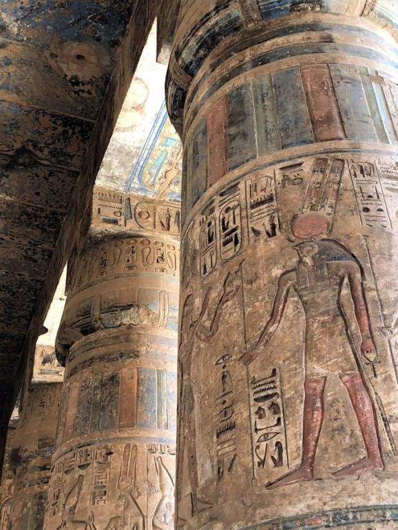 temple million d'annee ramses III - medinet habou egypte antique