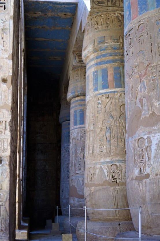 temple million d'annee ramses III - medinet habou egypte antique (5)