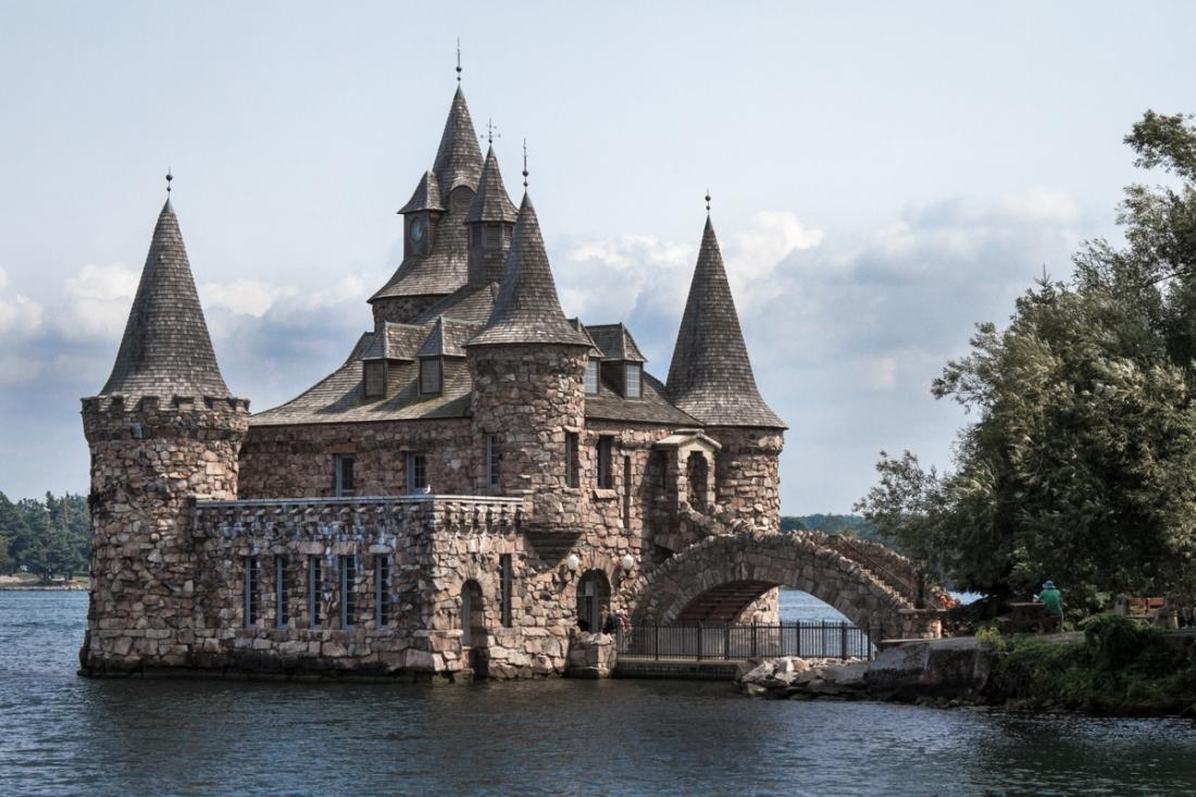 chateau bold - archipel des milles iles ontario canada